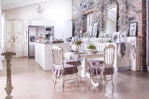 Ristrutturare casa e appartamento digital design genova - Stile shabby chic casa ...
