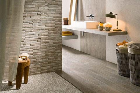 Ristrutturare casa e appartamento la fase progettuale digital design genova - Bagno effetto legno ...