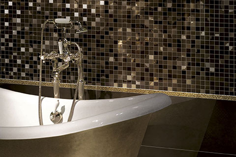 Beautiful Bagni Con Mosaico Ideas - Idee Arredamento Casa - baoliao.us